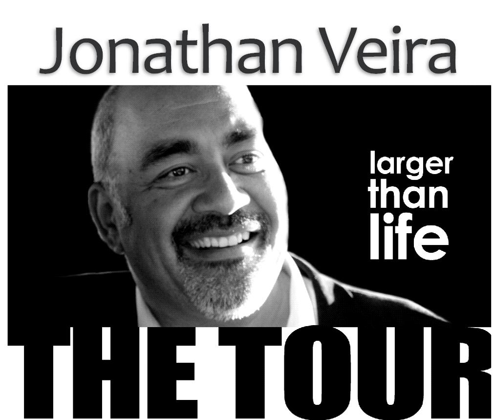 Jonathan Veira Larger Than Life Tour Southend-on-Sea