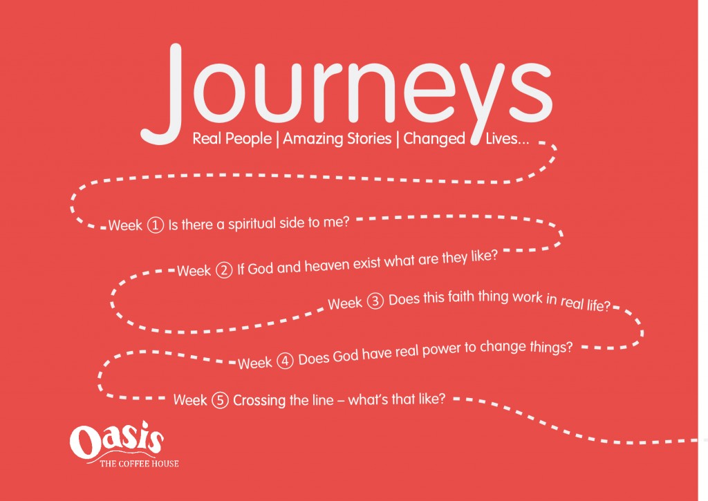 Journeys Course flyer