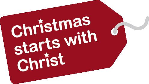 Christmas Starts with Christ logo