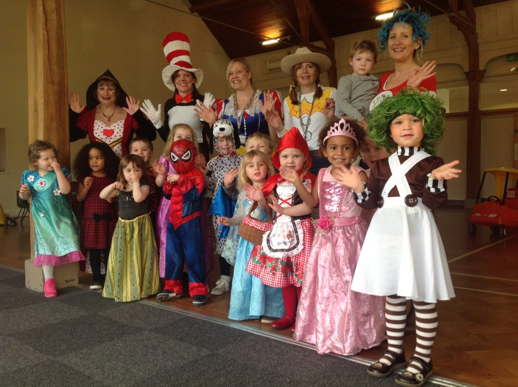 LRBC Pre School World Book Day 2017