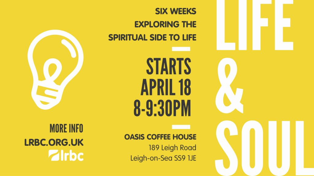 Life and Soul April 2017 Flyer