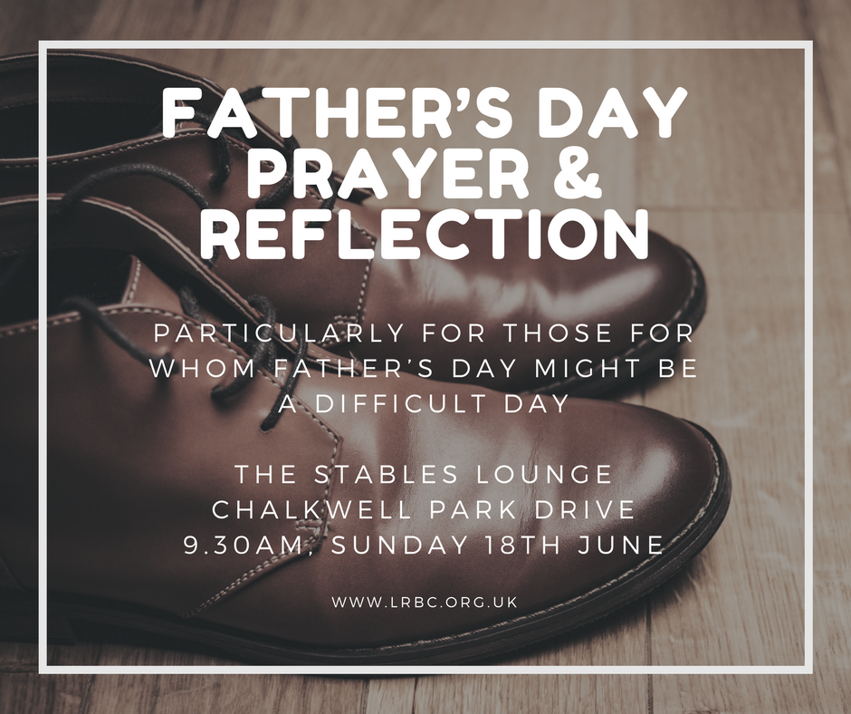 FATHER'S DAY PRAYER & REFLECTION