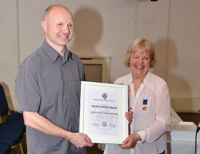 Good For Leigh Award Oasis Suspended Meals Alan Cook April 20, 2018