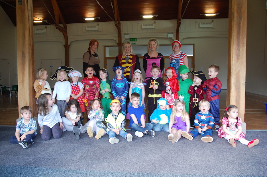 World Book Day at LRBC Pre-school