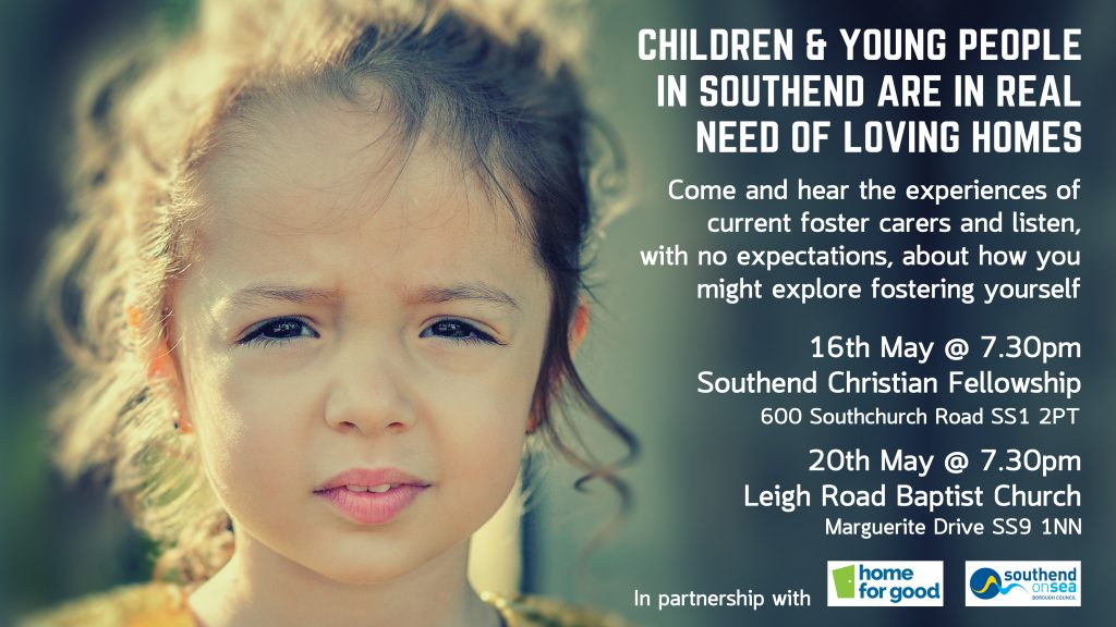 Fostering Event Leigh Road Baptist Church