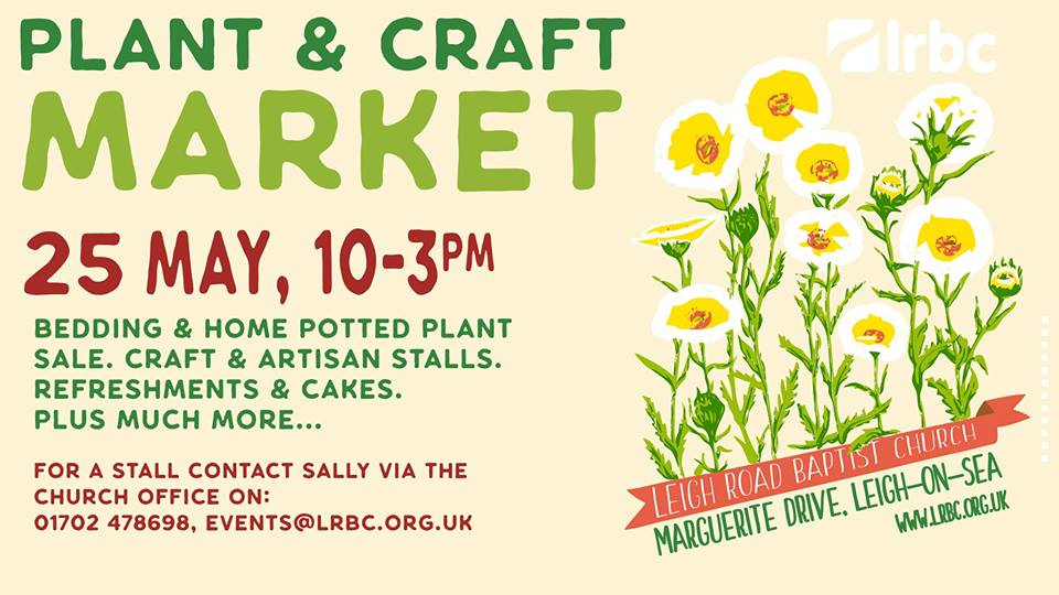 Plant and Craft Market Leigh-on-Sea 2019