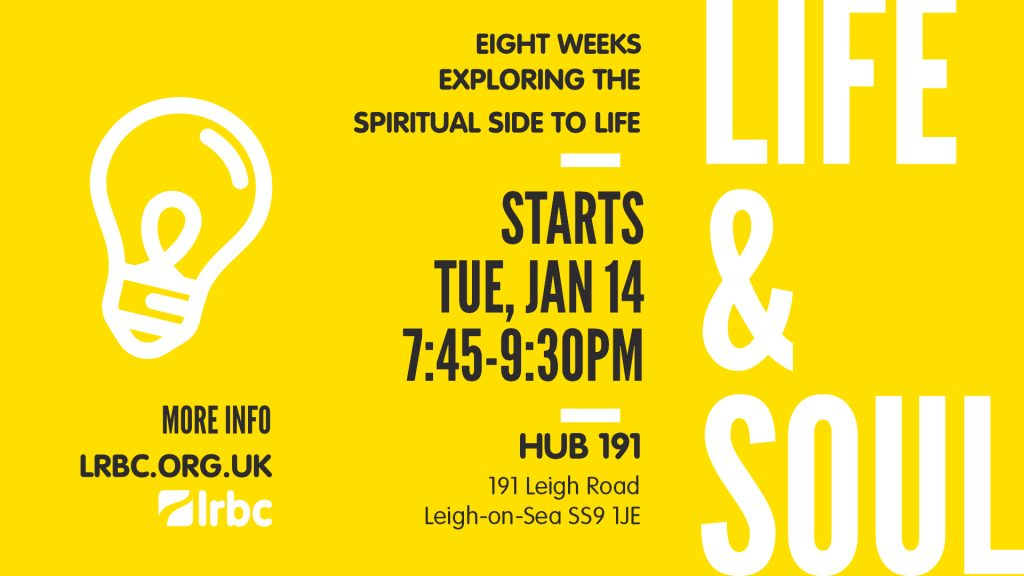 Life and Soul Jan 2020 invite