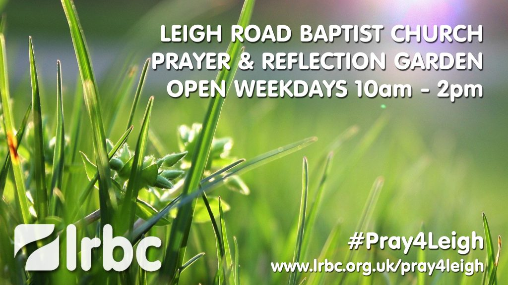 Leigh-on-Sea Prayer and Reflection Garden Now Open 10 am to 2 pm Weekdays