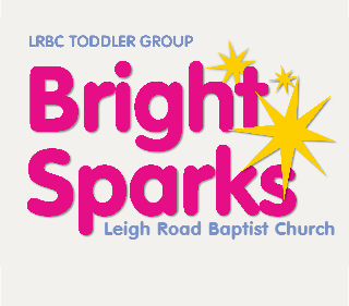 Leigh Road Baptist Church Toddler Group - Bright Sparks logo